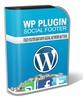Thumbnail Wordpress Social Footer Plugin